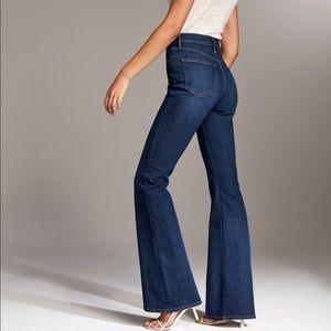 Denim Forum The Marianne Flare High Rise Jeans